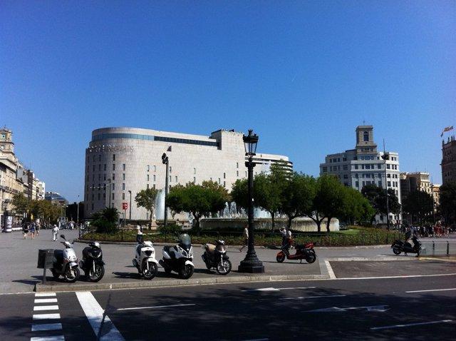 Plaza Catalunya De Barcelona