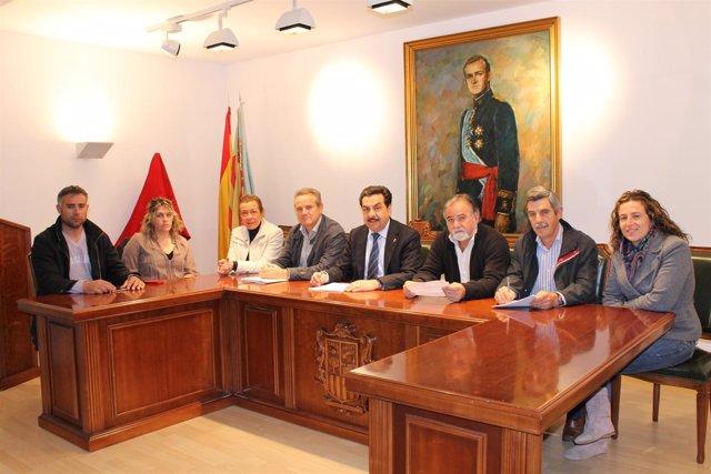 El Equipo De Gobierno De Vall D'alba (Castellón)
