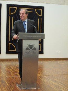 El Presidente De Castilla Y León, Juan Vicente Herrera