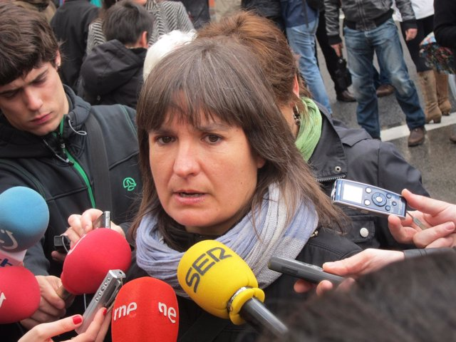 Maribi Ugarteburu, Portavoz De La IA