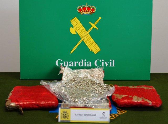 Marihuana Intervenida En Burgos