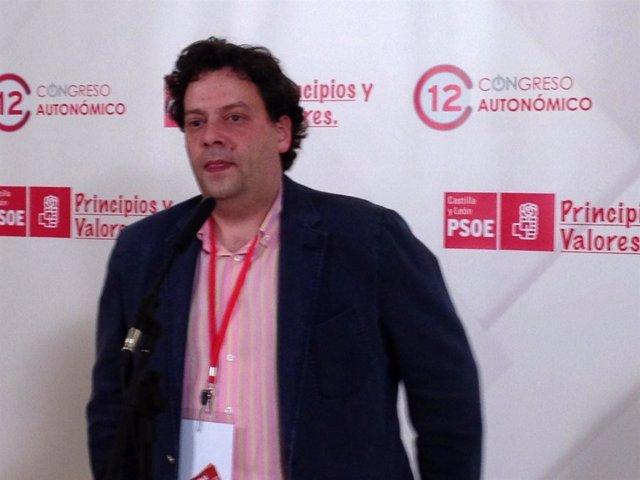 El Secretario Provincial Del PSOE En Burgos, José María Jiménez