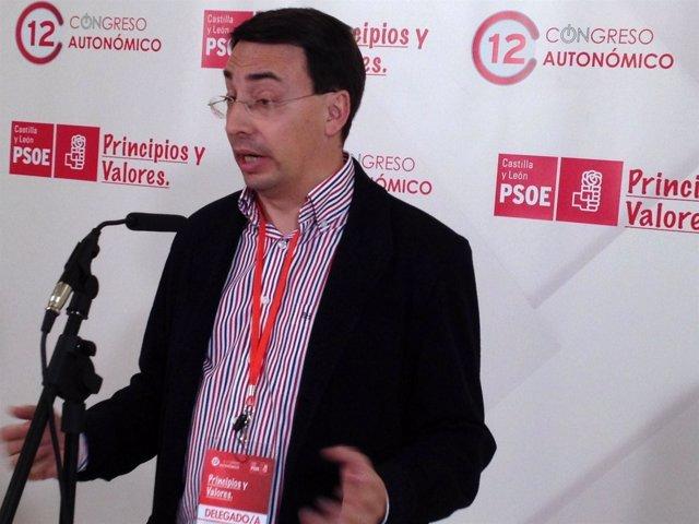 El Secretario Del PSOE En Salamanca, Fernando Pablos