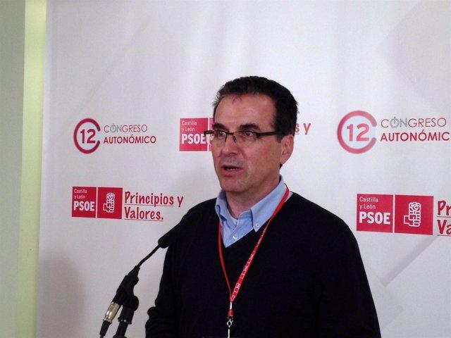 El Presidente De La Gestora Del PSOE En Zamora, Antonio Plaza