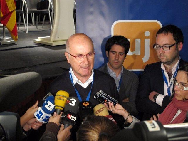 Josep Antoni Duran (UDC) En Un Congreso De Las Juventudes Del Partido En Sitges