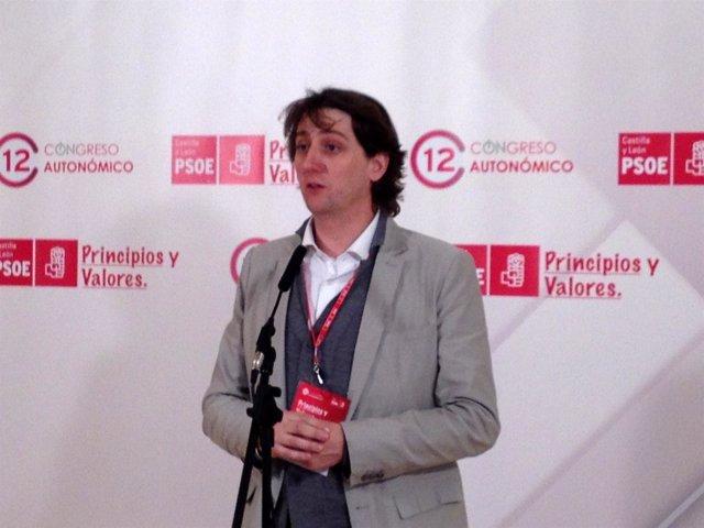 El Secretario Provincial Del PSOE En Soria, Carlos Martínez