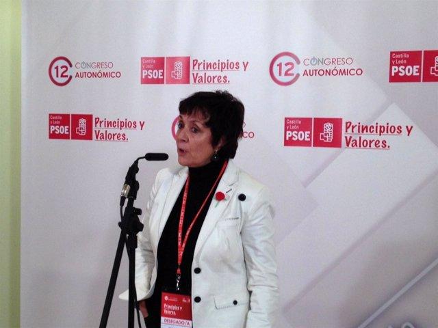 La Secretaria Provincial Del PSOE De Ávila, Mercedes Martín
