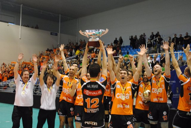 El Caja 3 Teruel, Campeón De La Superliga De Voleibol