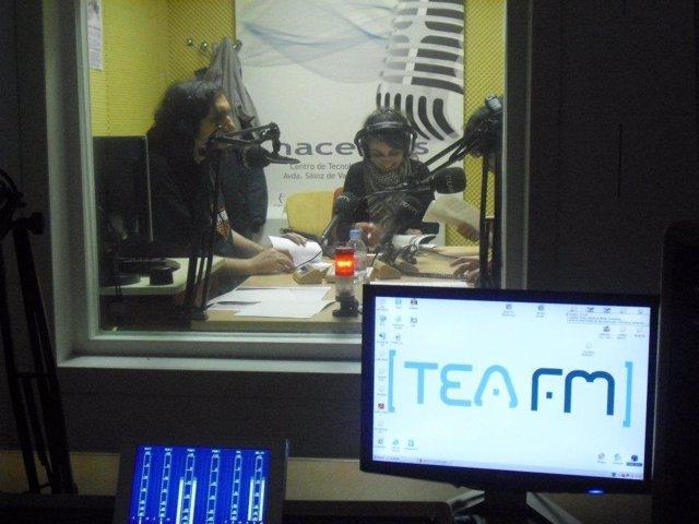 Estudio De La Escuela De Radio TEA FM