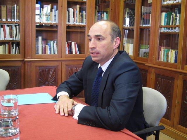 Consejero Delegado De Abengoa, Manuel Sánchez Ortega, Hoy En Sevilla.