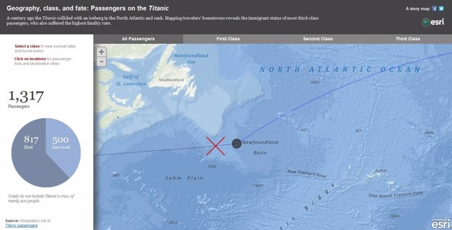 Mapa Interactivo Del Titanic