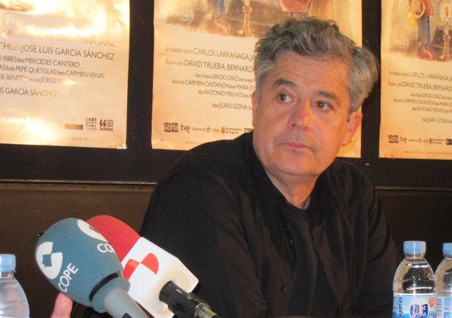 El Director Y Actor Carlos Iglesias En Los Cines Van Dyck De Salamanca