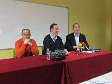 Roberto García (Izquierda), Ceclio Vadillo (Centro) Y Sergio Ledo (Derecha).