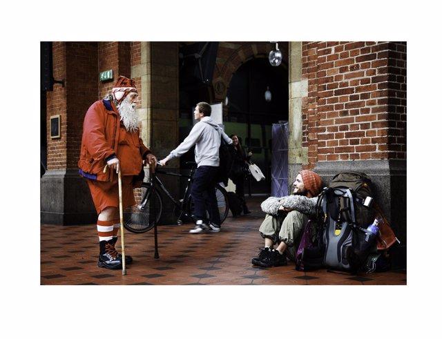 2010, Denmark, Copenhagen, Railway Station