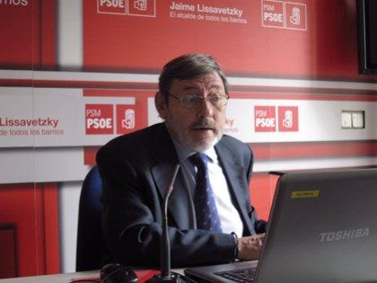 """Madrid.-Lissavetzky sobre el copago farmacéutico: """"Estamos asistiendo a la contrarreforma del PP en toda regla"""""""