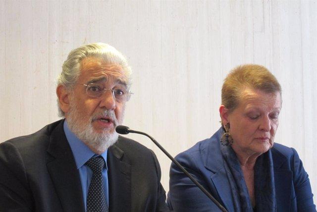 Plácido Domingo Y Helga Schmidt