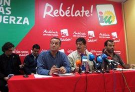 La dirección de IULV-CA orientará a sus bases a favor de un gobierno de coalición con el PSOE-A