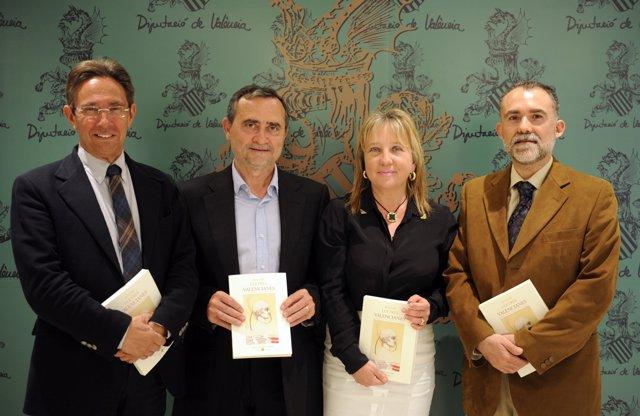 Bellveser, Saragossà, Puchalt Y Calpe En La Presentación