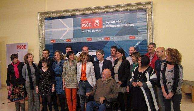 Inmaculada Ortega, Con La Nueva Ejecutiva Local Del PSOE
