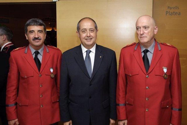 Mario Zunzarren, Felip Puig Y Juan José Salaverri.