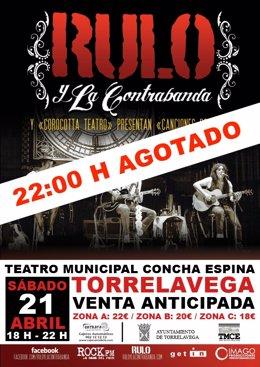 Concierto De 'Rulo Y La Contrabanda' En El TMCE