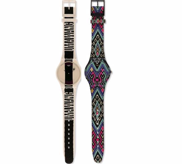 Relojes Swatch Diseñados Por Uma Wan