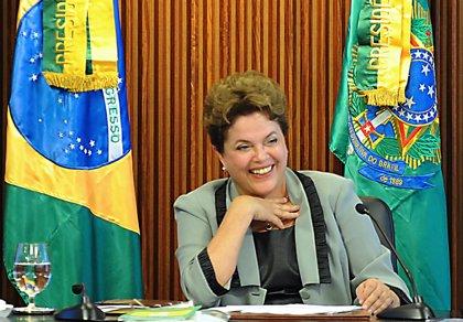 Rousseff alcanza un nuevo récord de popularidad con un 64% de aceptación