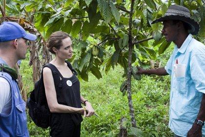 Ecuador/Colombia.- Angelina Jolie visita Ecuador para conocer la situación de los refugiados colombianos