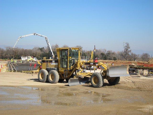 Trabajos De Construcción De La Subestación Conversora De Santa Llogaia
