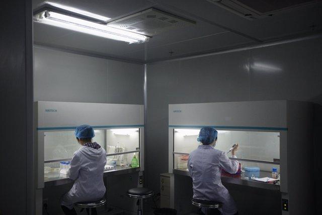 Laboratorio Genómica En China