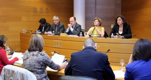 Enrique Albors En La Comisión De Investigación De Emarsa En Las Corts