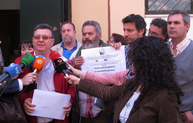 Sánchez Gordillo, Hoy Ante Los Medios
