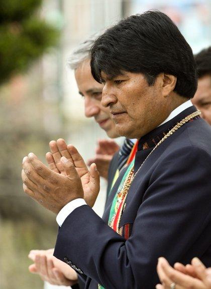 Bolivia.- Morales suspende varios actos públicos por una infección estomacal severa