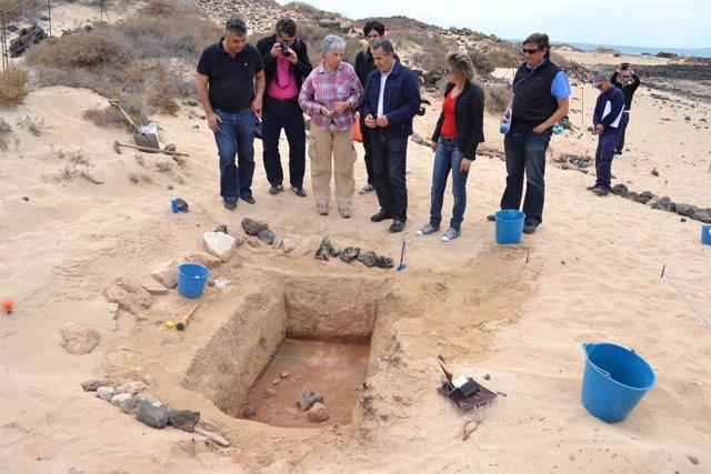 Yacimiento Romano En La Isla De Lobos