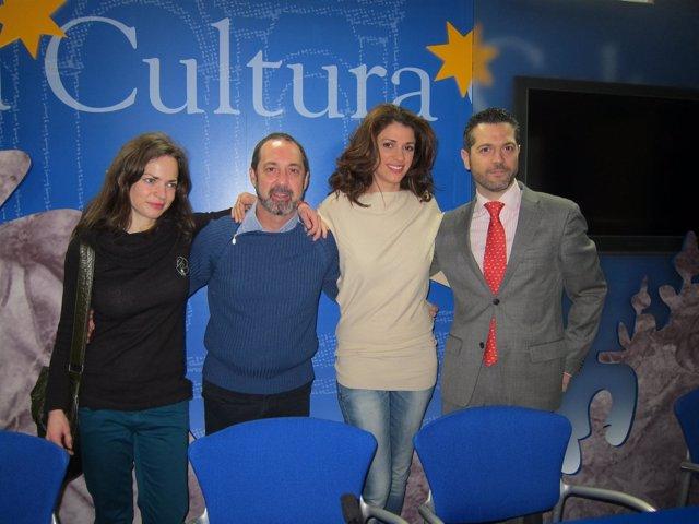 Lidia Navarro (I), Jorge Roelas, Ruth Gabriel Y Julio López
