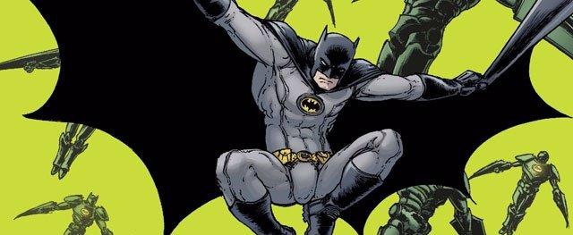 Un Dibujo De Batman Para DC Comics