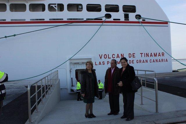 Visita Al Ferry Naviera Armas