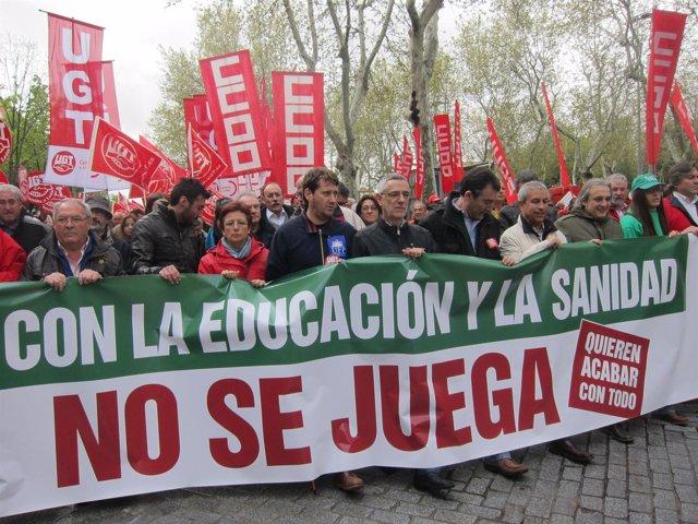 Manifestación De Valladolid