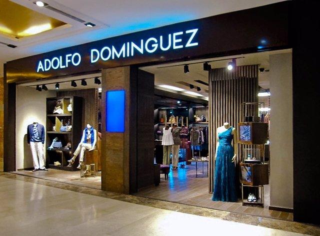 Tienda de Adolfo Domínguez en Delhi