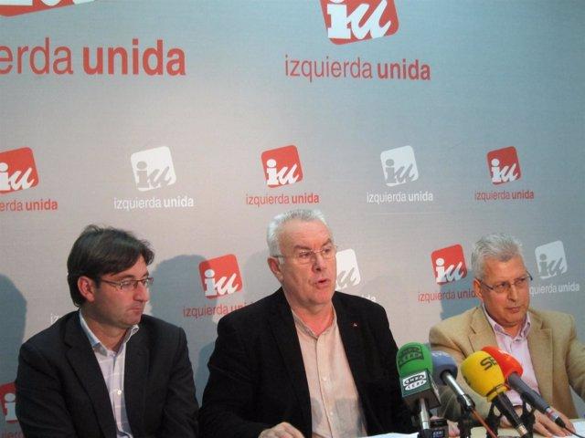 Martínez, Lara Y Fuentes En Rueda De Prensa