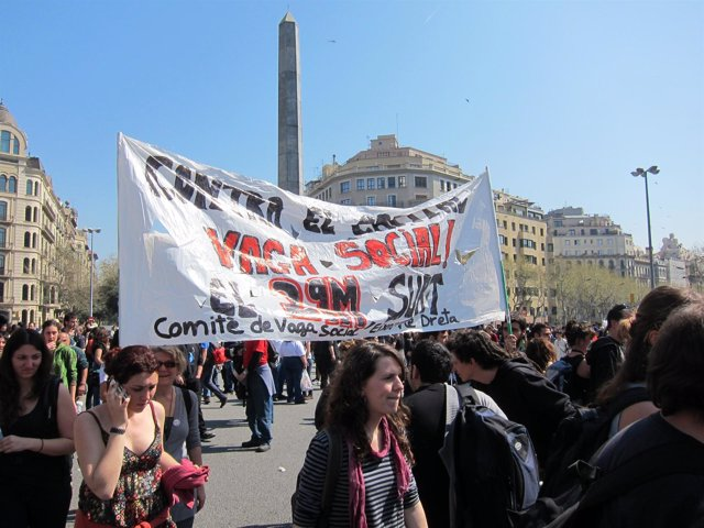 Huelga General En Barcelona 29M