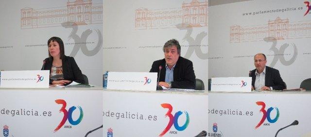 Foto Xunta De Portavoces (Los Tres Portavoces)