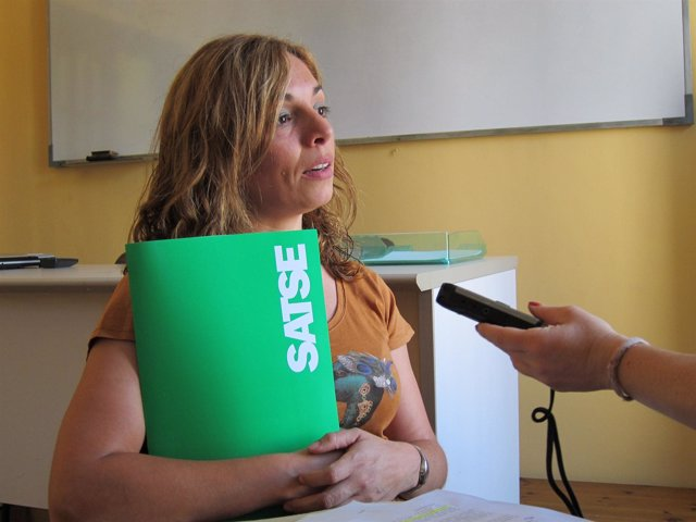 Secretaria De Comunicación De Satse Catalunya, Sheila Gascó