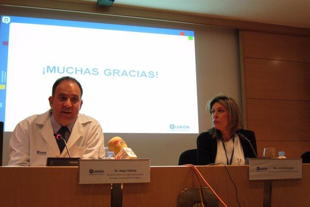Jorge Solano Y Cristina Guarga