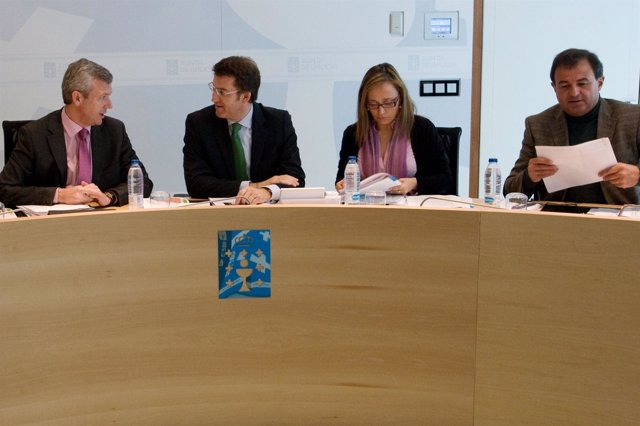 Reunión Del Consello De La Xunta 3 De Mayo De 2012