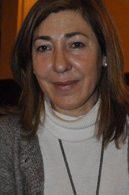 La Coordinadora Territorial De Upyd-Aragón, Cristina Andreu.