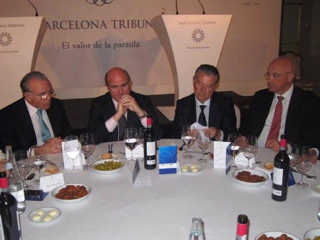 De Guindos, Este Jueves En Barcelon Tribuna