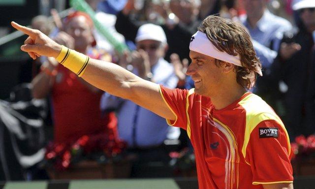 David Ferrer En La Copa Davis