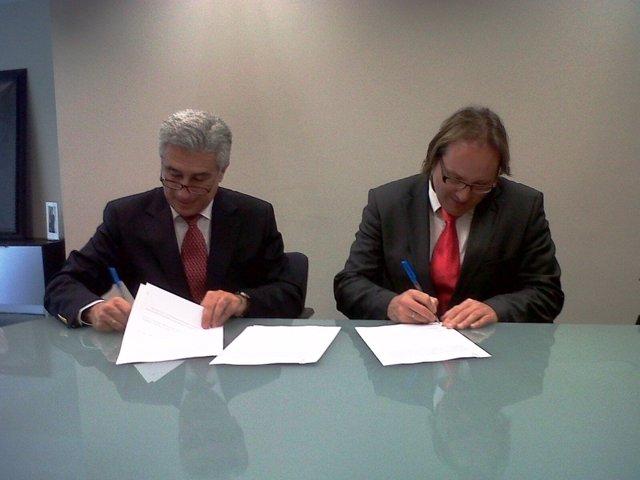 Firma Convenio Steve Y Dto Sanidad Gobierno Vasco