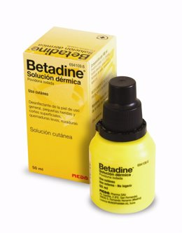 Envase Betadine